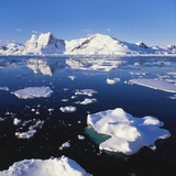 Ice Floe on the Antarctic Peninsula