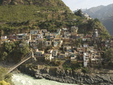 Devaprayag (Deoprayag)  Holy Site on Upper Ganges River  Garwhal Himalaya  Uttarakhand  India  Asia