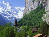 Lauterbrunnen  Jungfrau Region  Switzerland