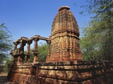 Ruins of an Ancient Surya Temple  Osian  Jodhpur  Rajasthan  India