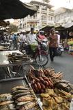 Seafood at Food Market  Phnom Penh  Cambodia  Indochina  Southeast Asia  Asia