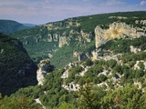Ardeche Gorges  Roussillon  France
