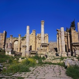 Temple of Artemis  Jerash  Jordan  Middle East