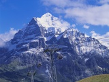 Wetterhorn Mountain  Grindelwald  Bernese Oberland  Switzerland
