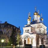 Russian Orthodox Church  Geneva  Switzerland  Europe