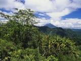 Mt Sinabung  Sumatra  Indonesia  Asia