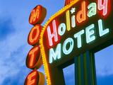 Motel Sign  the Strip  Las Vegas  Nevada  United States of America  North America