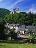 Vianden Castle  Vianden Town  Luxembourg