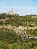 Tsarevets Fortress  Veliko Tarnovo  Bulgaria  Europe