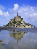 Mont-Saint-Michel  Normandy  France