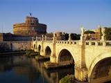Castle San Angelo  Rome  Italy