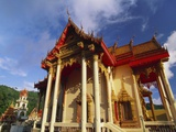 Ornate Buddhist Temple  Ao Patong  Koh Phuket  Thailand