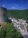 Esch Sur Sure Castle  Esch Sur Sure  Luxembourg
