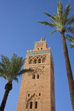 Koutoubia Minaret  Marrakesh  Morocco  North Africa  Africa