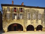 Medieval Stone House  La Bastide D'Armagnac  Landes  Aquitaine  France