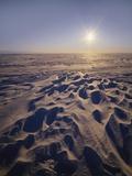 Sun on a Snowy Plateau  Antartica