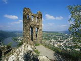 Grevenburg Castle Ruin  Mosel  Germany
