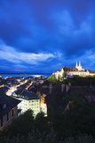 The 15th Century Chateau and Cathedral  Neuchatel  Switzerland  Europe