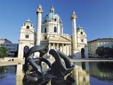 St Charles' Church  Vienna  Austria