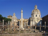 Trajan's Forum  Rome  Italy
