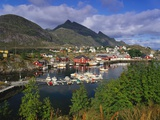 Sorvagen Village  Lofoten Islands  Norway