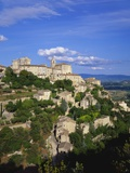 Hillside Town  Gordes  Provence  France