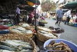 Food Market  Phnom Penh  Cambodia  Indochina  Southeast Asia  Asia