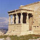 Caryatids  Erechteion  Acropolis  Athens  Greece