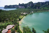 Holiday Resort at Rai Leh Bay  Krabi  Thailand