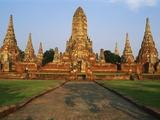 Phra Nakhon Si Ayutthaya  Wat Chai Wattanaram  Thailand