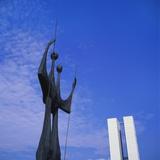 Os Candangos Monument  Brasilia  Brazil
