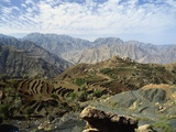 Remote Mountain Village  Yemen