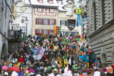 Fasnact Spring Carnival Parade  Lucerne  Switzerland  Europe