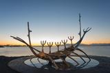 Iceland  Reykjavik  Solfar (Sun Voyager)