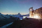 The Matterhorn  4478M  and Gornergrat Observatory