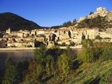 Sisteron  Provence  France