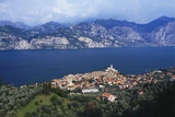 Malcesine on the Coast of Lake Garda  Veneto  Italy