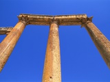 Columns of the Cardo in Jerash  Jordan