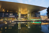 Kkl Art and Congress Centre Concert Hall  by Architect Jean Nouvel  Lucerne  Switzerland  Europe