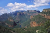 Drakensberg Mountains and Blyde River Canyon  South Africa