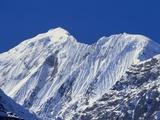 Mt Gangapurna  Annapurna Mountain Range  Nepal