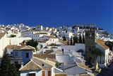 Rooftop View of the Village of Ronda  Malaga  Andalucia  Spain