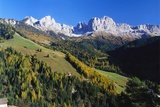 Trentino-Alto Adige and the Dolomite Mountains  Italy