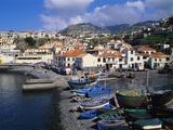 Camara De Lobos Harbour  Madeira  Portugal