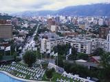 Aerial View of Las Mercedes  Caracas  Venezuela