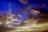Colourful Clouds at Dusk  Kerala  India  Asia