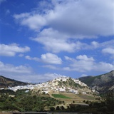 Distant View of Moulay Idriss  Morocco