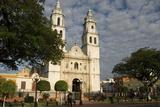 Catedral De Nuestra Senora De La Purisima Concepcion  Campeche  Mexico  North America