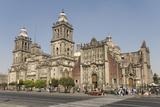 Catedral Metropolitana  Zocalo (Plaza De La Constitucion)  Mexico City  Mexico  North America