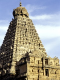 Brahadeeshwara Temple  UNESCO World Heritage Site  Thanjavur  Tamil Nadu  India  Asia